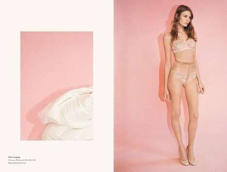 Color-Blocked Underwear Campaigns - The Stella McCartney Fall/Winter 2014/2015 Lingerie Ads Are Bold
