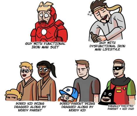 Nerd Convention Stereotypes - Dorkly