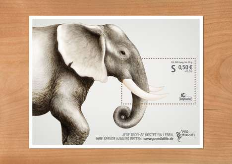 Anti-Poaching Stamps - Pro Wildlife