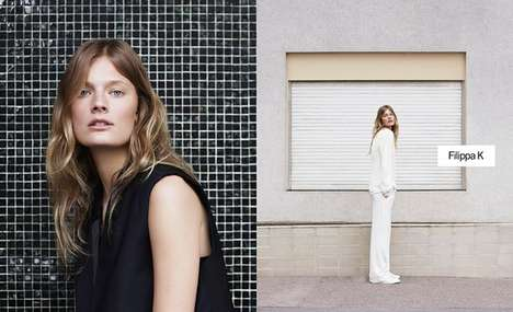 Dual Print Fashion Campaigns - The Filippa K Fall/Winter 2014/2015 Ads Display Multiple Images