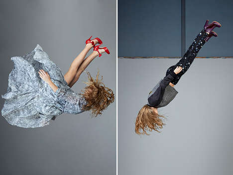 Elegant Anti-Gravity Catalogs - Minna Parikka's Latest Accessory Lookbook is Playfully Bold