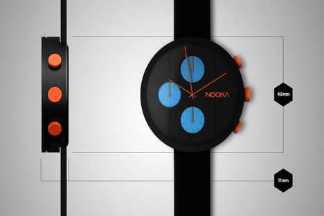 Space Race-Inspired Watches - The New Nooka Watch Celebrates Space Exploration and Human Potential