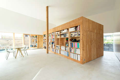 Compact Plywood Architecture - ATMN by Archi Lab Makes the Most from a Small Space