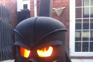 This Darth Vader Design Stove is Great for Backyard Bonfires