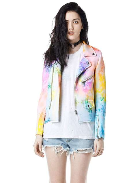Marbled Biker Attire - UNIF