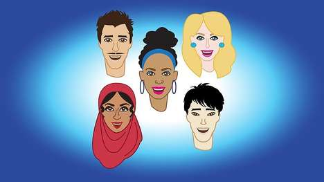 Culturally Diverse Emojis - iDiversicons Offers Racial and Gender Representation for Communication