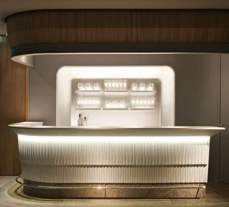 Streamlined MOD Hotels - The Bayerischer Hof Hotel Highlights Curvilinear Design Accents