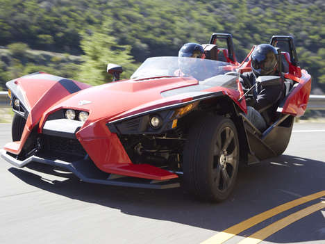Insane Three-Wheeled Roadsters - The Polaris Slingshot is Bizarre and Spectacular