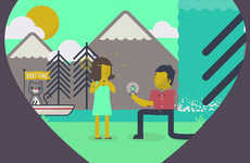 Adorably Animated Proposals - Adam Rosenbaum's Charming Proposal Video is Illustrated