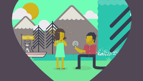 Adorably Animated Proposals - Adam Rosenbaum
