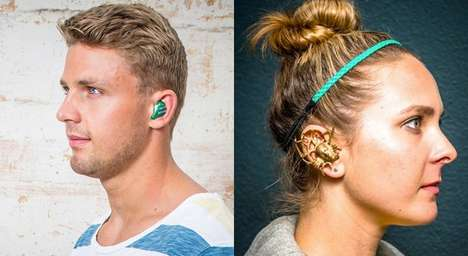 48 Headphone Designs for Runners - From Sweat-Proof Headphones to Wireless Custom Earbuds