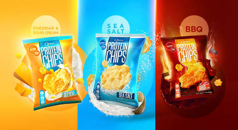 Protein-Packed Chips - Quest Nutrition's Protein Chips Are a Satisfying, Healthy Way to Indulge
