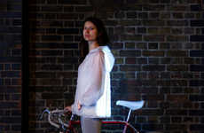 Glowing Cyclist Jackets