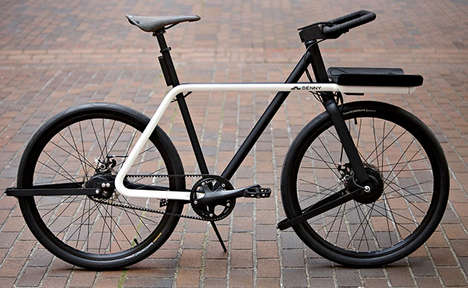 Minimalist Urban Bicycles - The Denny Bike Was Built to Handle the Challenges of Urban Cycling