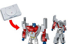 Transformative Gaming Toys - TakaraTomy's Optimus Prime Toy Turns into a Playstation