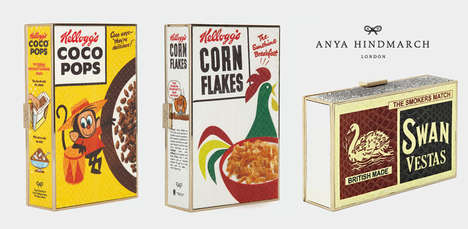 Vintage Cereal Clutches - Anya Hindmarch
