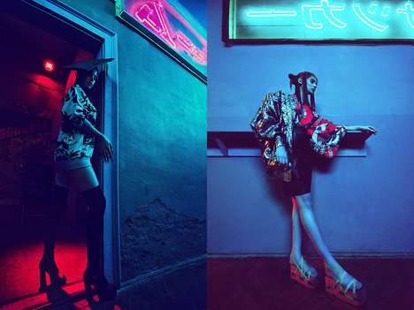 Chromatic Geisha Editorials - Glassbook Magazine