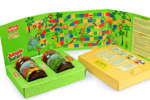 Kissan's Jam Packed Fun Moments Contains a Healthy Snack and an Activity