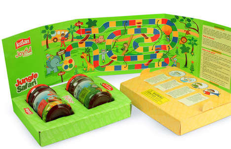 Educational Jam Boxes - Kissan's Jam Packed Fun Moments Contains a Healthy Snack and an Activity