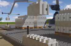 LEGO-Like Architecture - These Smart Brick Concrete Blocks Make Building Faster and Cheaper