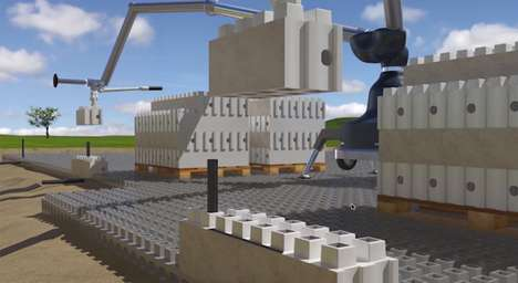 LEGO-Like Architecture - These Smart Brick Concrete Blocks Make Building Faster and Cheaper