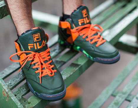 Cinematic Reptile Sneakers - These FILA Teenage Mutant Ninja Turtle Sneakers Celebrate the Film