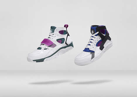 Sleek Sandal Sneakers - The New Nike Huarache Designs Blend Comfort & Style in a Progressive Design