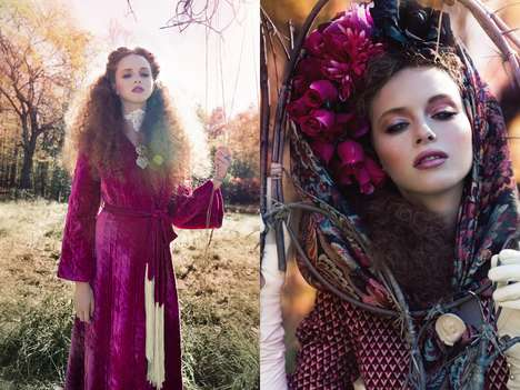 Luxe Bohemian Editorials - Glassbook Magazine