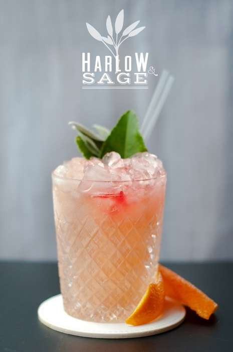 Herbed Tequila Cocktails - This Harlow and Sage Drink by Death to Sour Mix is a Fresh Summer Fave
