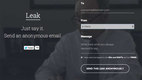 Anonymous Messaging Services - This Anonymous Email Account Allows You to Release Repressed Rage