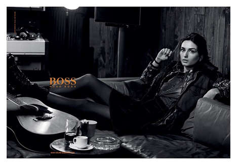 Remarkably Relaxed Fashion Campaigns - The Hugo Boss Orange Fall/Winter 2014/2015 Ads Are Subdued