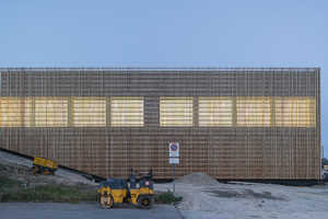 These Swiss School's Design Features Slender Wooden Battens