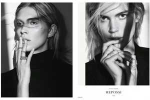 The Repossi Fall/Winter 2014/2015 Ads Display the Face Only