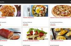 Curating Chef Apps - The Food Network App Lets You Feel Like a Professional