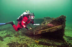 Underwater Museums - 'Underwater Museums' in the Baltic Sea Aims to Preserve Maritime Monuments