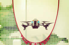 War Weapon Selfies - 'Drone Selfies' Questions the Role of These Machines During Peacetimes
