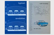Minimalist Auto Illustrations - These Vintage Drawing Show the Inner Working of BMW Cars