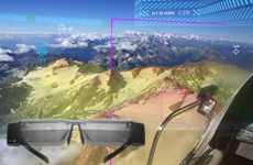 Augmented Reality Pilot Displays - 'Aero Glass' Helps Pilots Keep Their Eyes on the Skies