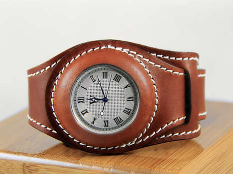 Contemporary Chronometer Watches - The Wristlet Watch is a Pocket Watch for Your Wrist