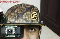 Inexpensive Augmented Reality Headsets - The Smart Cap Can Be Built Using Easily Available Parts