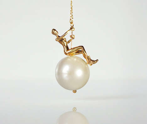 Pop Video Jewelry - TO+WN Design Turns Wrecking Ball into a Necklace