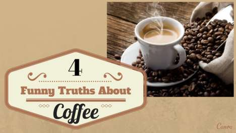 Comedic Coffee Charts - Isla Bell Murray Designed an Infographic Illustrating Coffee Truths