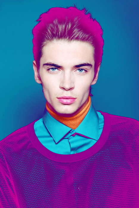 Chromatic Color-Filter Photography - Newcomer Adrian W Stars in this Exclusive by Krzysztof Wyzynski