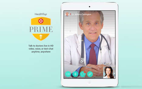 Trailblazing Telemedicine Apps - The HealthTap Prime App Helps You Video Chat With Doctors