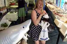 Shark Attack Pranks - The Fishmonger Shark Attack Prank Causes Screams Ahead of Sharknado 2