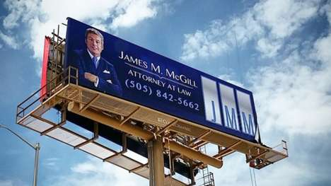 Teaser TV Billboards - A Giant Billboard for 'James M. McGill' Promotes the Breaking Bad Spinoff