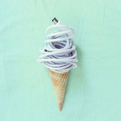 Illusory Food Objects - Dudi Ben Simon Transforms Everyday Objects into Popular Food Items