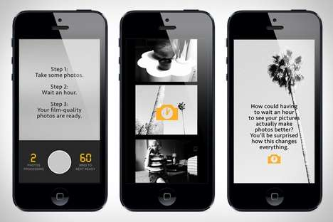 Digital Darkroom Apps - The 1-Hour Photo App Makes You Wait to See Your Smartphone Snapshots