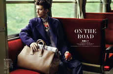Posh Traveler Portraits - GQ Japan's On the Road Editorial is Lensed by Photorgapher Shiro Katagiri