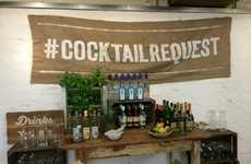 Customized Drink Campaigns - Jamie Oliver & Bacardi Are Hosting Cocktail Request Week on Drinks Tube